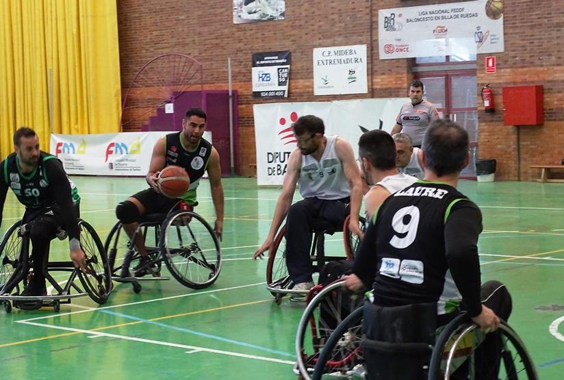 El Mideba Extremadura cumple el trámite con victoria ante el BSR VISTAZUL