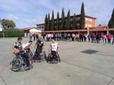Integrantes del Mideba Extremadura estuvieron en Alburquerque para mostrar el baloncesto en silla de ruedas (5)