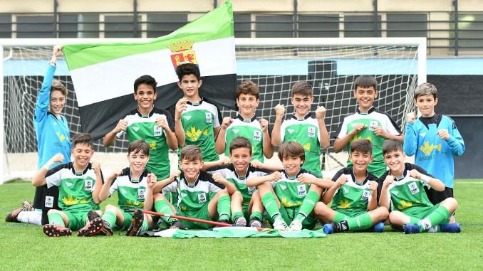 La Selección Extremeña Alevín F8 alcanza las semifinales por primera vez en su historia