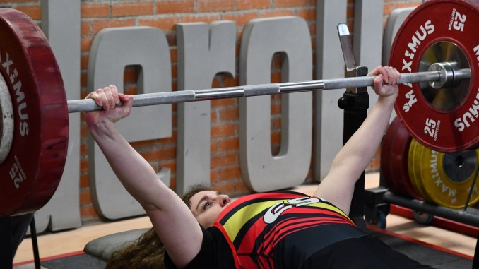 Loida Zabala Ollero disputará en Francia el campeonato de europa de Halterofilia adaptada