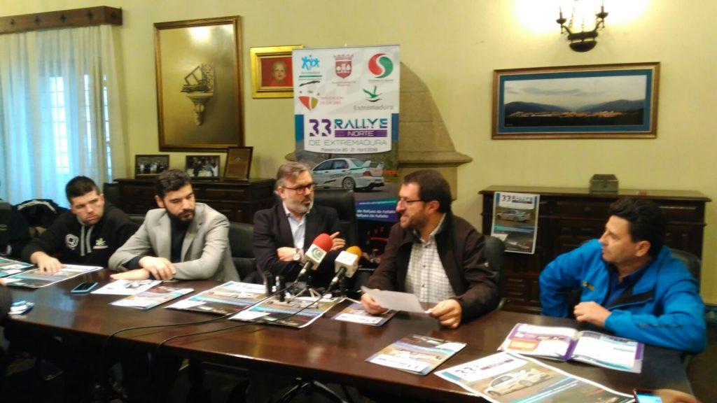 Escudería Plasencia presenta la nueva edición del Rallye Norte de Extremadura