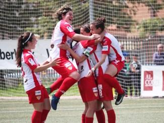 Victoria del Santa Teresa Badajoz ante al Zaragoza CFF para seguir soñando