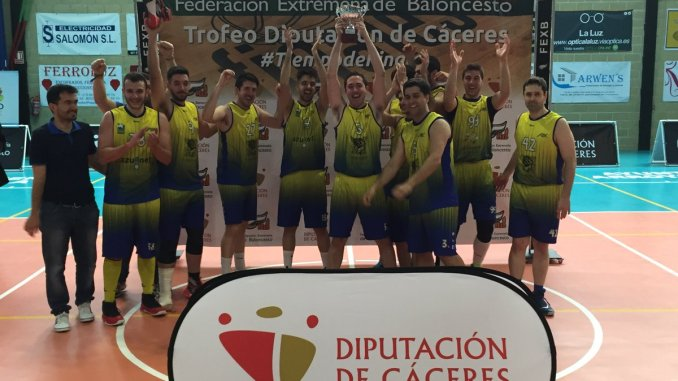 ADC Basket y San Antonio Cáceres, campeones en el Trofeo de Baloncesto Diputación de Cáceres