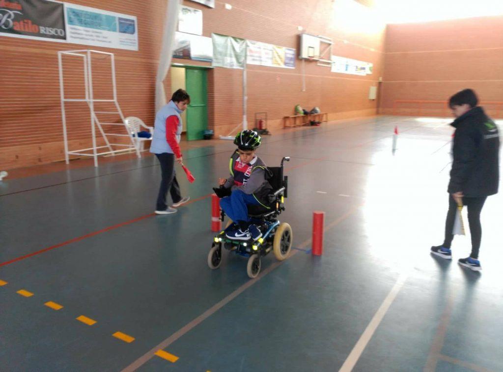 Cinco extremeños estarán en Leganés en el Campeonato de España de Slalom en silla de ruedas