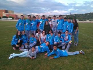 El CAPEX consigue veinticuatro medallas en el Campeonato de Extremadura Sub16 y Sub18