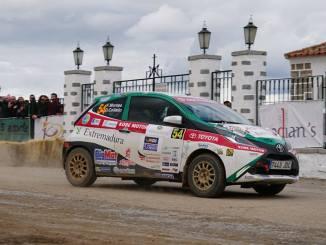 El Extremadura Rallye Team a confirmar el buen momento en el Rally Terra da Auga