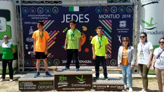 Eduardo Virlán y Ángel Aparicio, en lo más alto del Campeonato de Pista Jedes