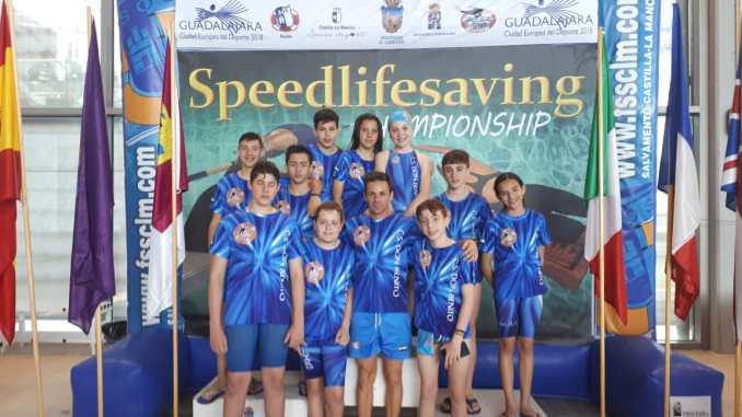 Resultados positivos del Club Salvamento Don Benito en el Speedlifesaving 2018