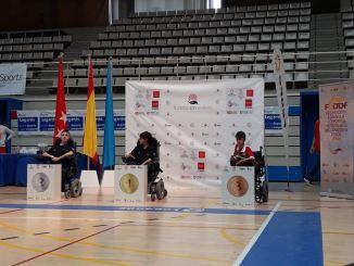 Luis García bronce en el Campeonato de España de Slalom