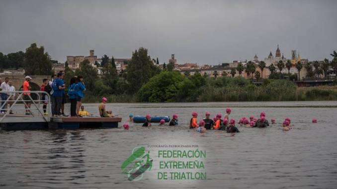 Nueva edición del Triatlón Puerta Palmas de Badajoz