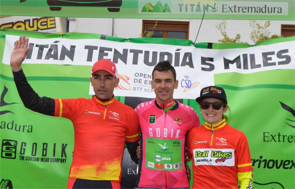 El placentino Pedro Romero gana la Titán Tentudía 5 Miles de Cabeza la Vaca