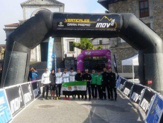 Quinto puesto de la Selección Extremeña Fexme en el Campeonato de España KM Vertical