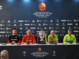 Todo está listo para la final que enfrentará a Barça Lassa y Jaén Paraíso Interior en el Pabellón Multiusos de la capital cacereña