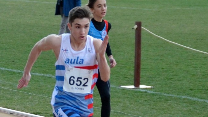 El Atleta del CAPEX, Hernán Cortés logra la mínima Europea Sub18