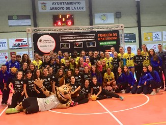 El campeón Las Palmas se exhibe en Arroyo, capital ibérica del mejor voleibol juvenil