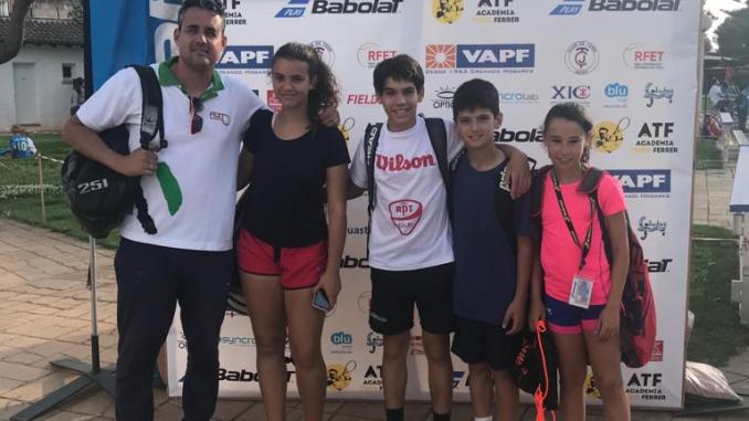 Finalizó la Fase Final de la Copa Babolat con la presencia de cuatro jugadores Extremeños