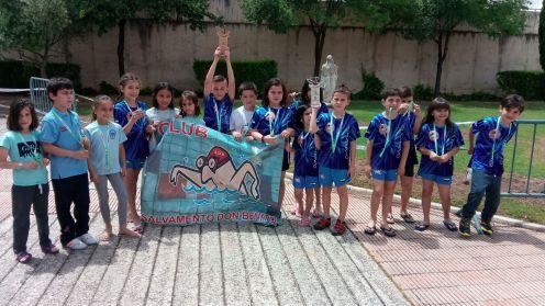 Los benjamines del Club Salvamento Tiendas Pavo Don Benito Campeones de Extremadura (4)