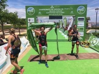 María Rico logra dos títulos nacionales en Mar de Pulpí