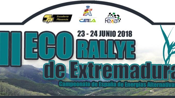 Ultimando los preparativos del Eco Rallye Ciudad de Plasencia