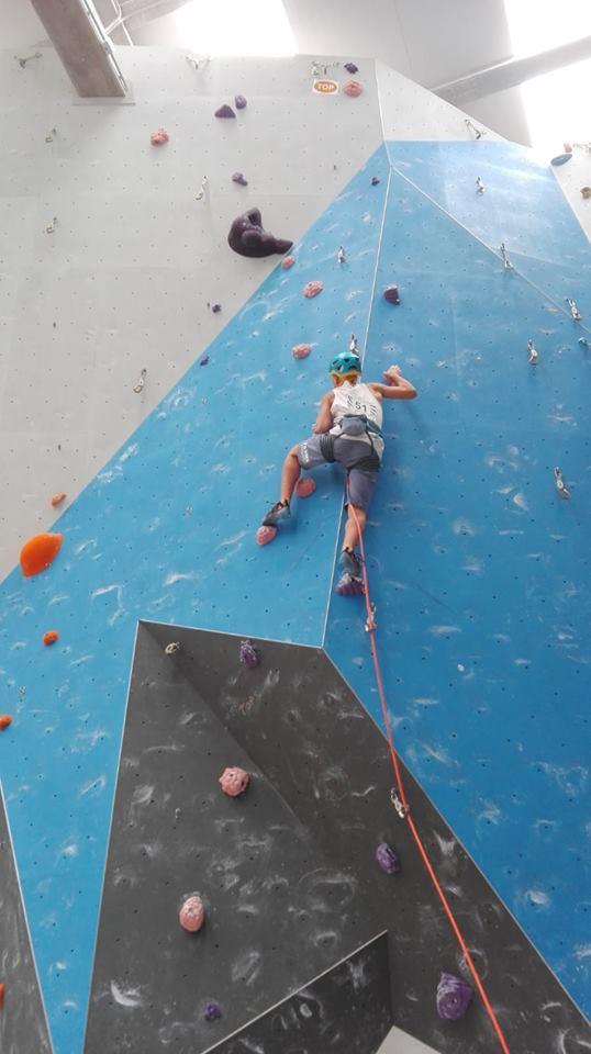 Bronce para la Selección Extremeña de Escalada Cadete en Santiago de Compostela (10)