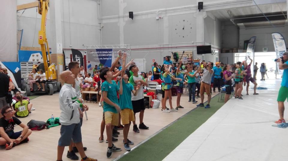 Bronce para la Selección Extremeña de Escalada Cadete en Santiago de Compostela (7)