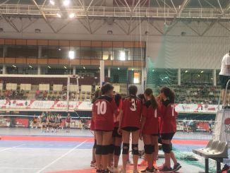 Buena actuación de los equipos del Club Pacense Voleibol en Espinho