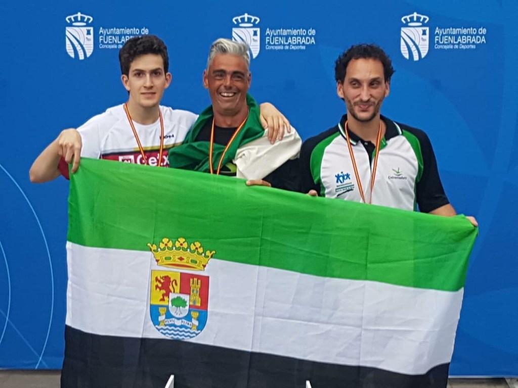 EXTREMADURA tercera en el Nacional de Atletismo Adaptado IPC