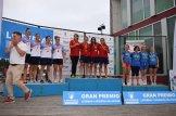 El CP Iuxtanam Monteoro k4 Femenino 500 metros Campeón de España sobre distancia Olímpica