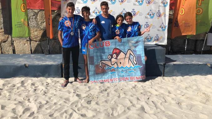 El Club Salvamento y Socorrismo Don Benito participó en el Campeonato de España Infantil y Cadete de Verano