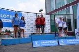 La dupla del CP Iuxtanam Monteoro Teresa Tirado y Estefania Fernández Campeón de España en K2 500
