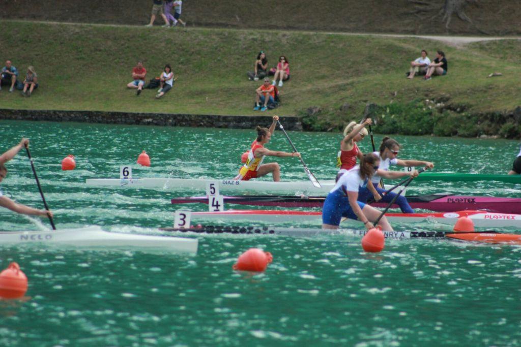 Mª Belen Diaz C1 500 - Gran Éxito de las Mujeres Extremeñas en el Campeonato de Europa de Sprint Olímpico para Junior y Sub23