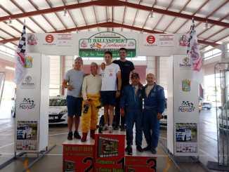Casimiro y Ortiz vencedores del II Rallysprint Zurbarán