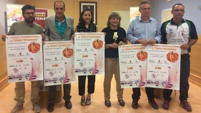 Presentado la Tercera Edición del Torneo Internacional Femenino WTA de Don Benito