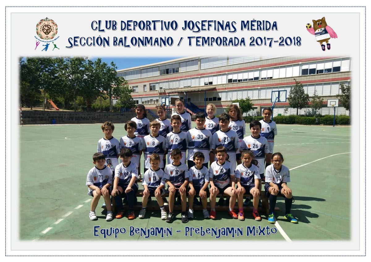 Descubre el Club Deportivo Josefinas Mérida, un club de balonmano, baloncesto y gimnasia rítmica
