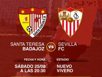 El Santa Teresa Badajoz se presentará ante el Sevilla FC en el Nuevo Vivero