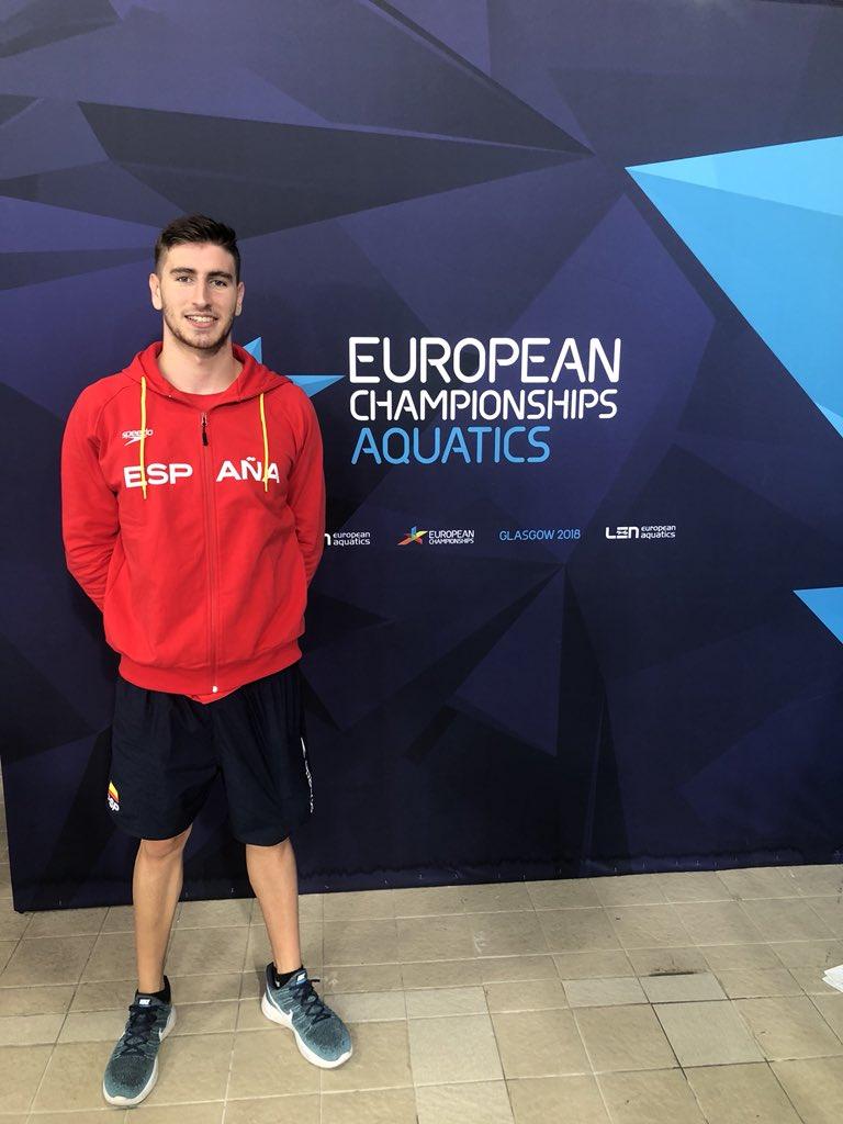 Miguel Durán y Cesar Castro participarán en el relevo 4x200 del XXXIV Campeonato de Europa Absoluto GLASGOW-ESCOCIA