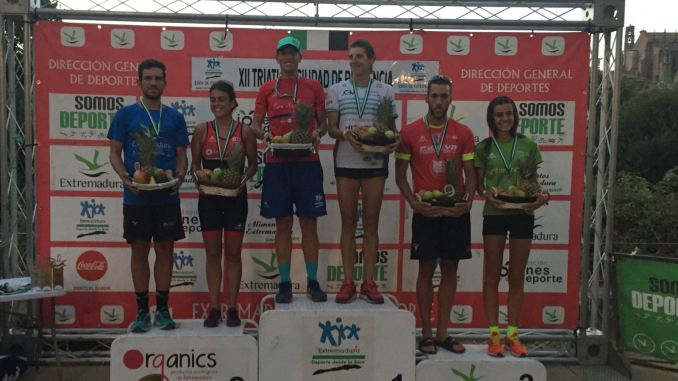 odium general Triatlon de Plasencia