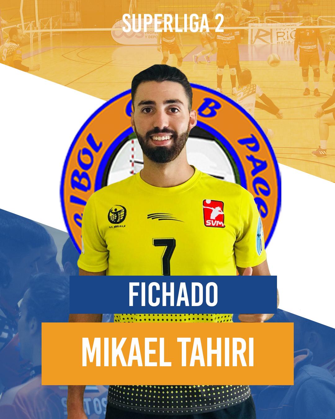 El Extremadura Pacense Voleibol ficha a Mikael Tahiri