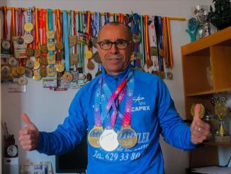 El marchador calamonteño Miguel Periáñez será la representación del CAPEX en el mundial