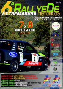 Comienza el VI Rallye de Extremadura Histórico