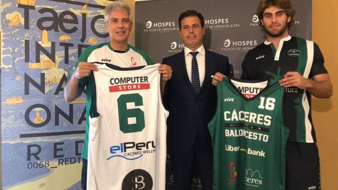 El Cáceres presenta el V Trofeo Internacional Turismo Provincia de Cáceres