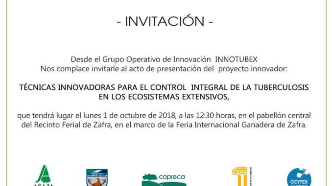 Presentación del Grupo Operativo de Innovación INNOTUBEX en Zafra