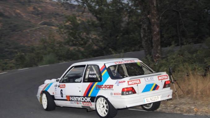 Victoria de Manuel Muniente y su copiloto Borja Rozada en el VI Rallye de Extremadura Histórico de Jarandilla de la Vera