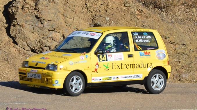 El ERT representado en el mítico Rallye de la Vendimia