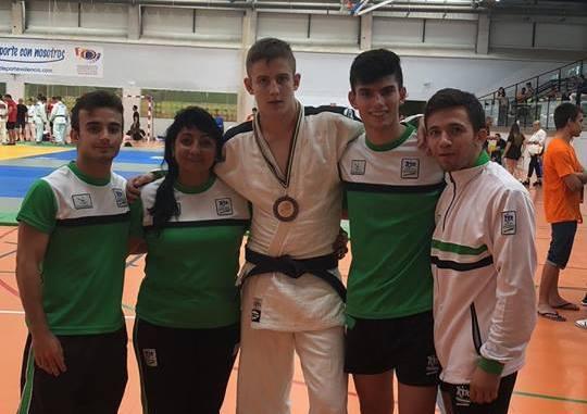 Dani Nieto bronce en la Supercopa Junior de Judo de Valencia 2018