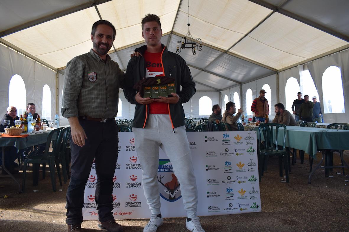 Jesús Lozano y Jorge Jorge Montero se imponen en los Campeonatos Provinciales de Caza Menor con Perro