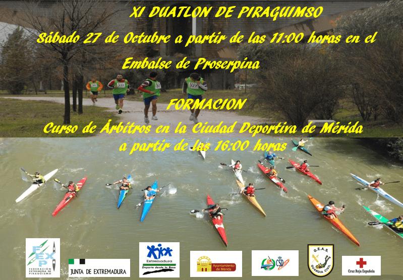 El XI Duatlón de Piragüismo, próximo reto para Elena Ayuso