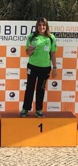 Elena Ayuso acaba primera en la XXI Subida Internacional al Río Arade