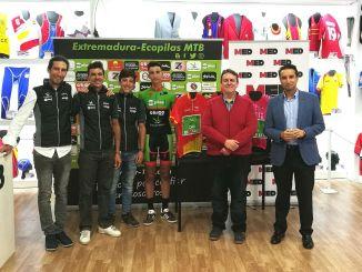 El pacense Miguel Benavides correrá con Extremadura-Ecopilas en 2019
