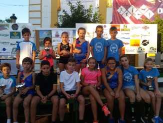 Buenos resultados del Club Atletismo Don Benito en el XL Cross del Cordero
